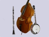 Banjo, Double Bass, and Clarinet/Saxophone